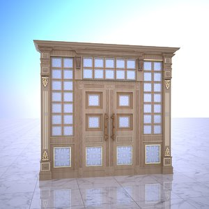 old ornamental gate model