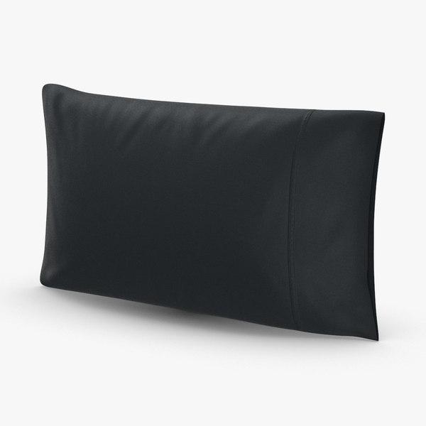 modern-throw-pillows---black 3D model
