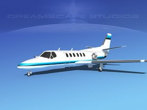 scale citation ii 550 3D model