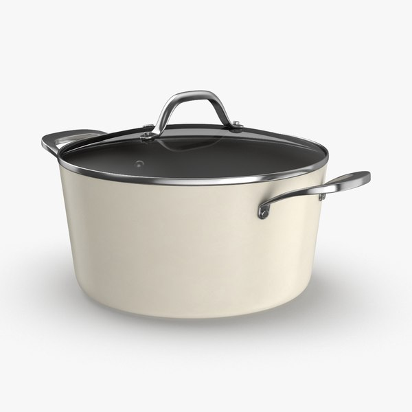 contemporary-cookware---soup-pot 3D model