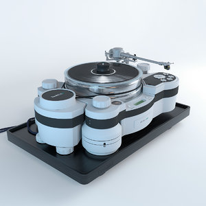 vinyl player techdas air force model