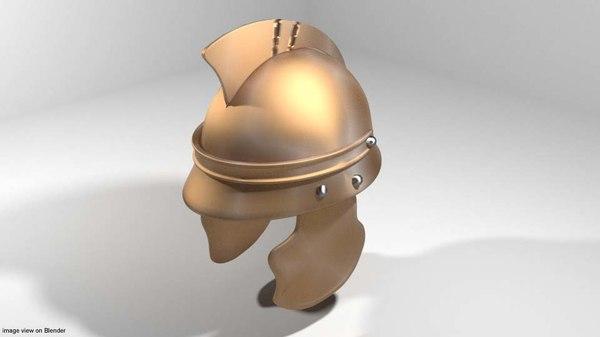 3D centurion helm helmet