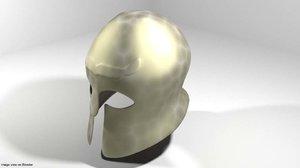 3D ancient combat corinthian model