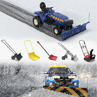 Snow Removal Equipment 3D Models Collection 2