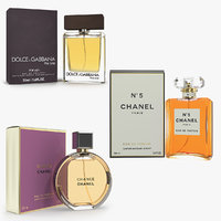 parfums boxes 3D model