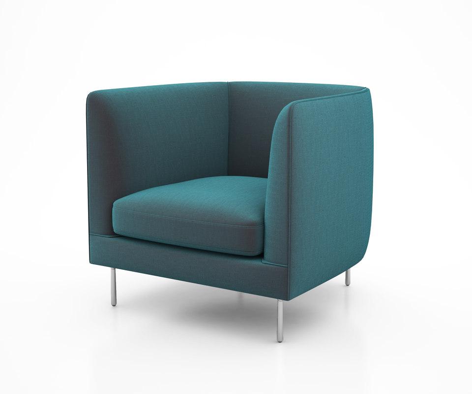 delta club chair bensen 3D