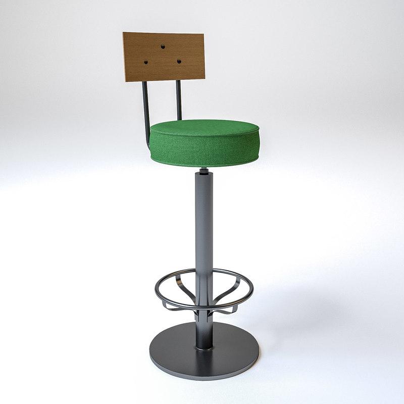 satelliet fife stool steel 3D