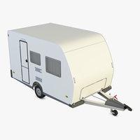 3D weinsberg caravan