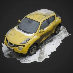 scan dirty car nissan 3D model