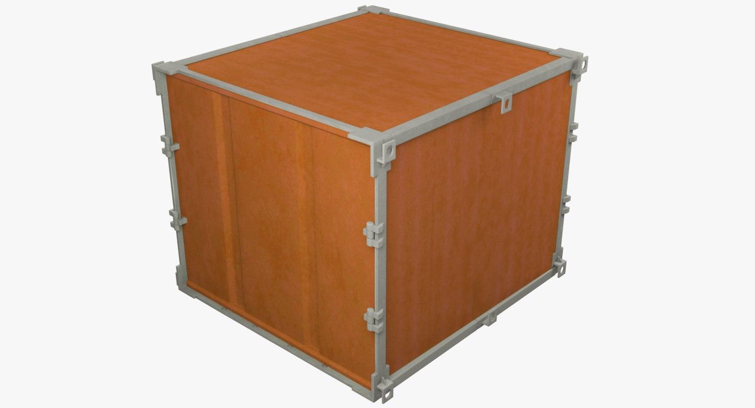 3D cargo container