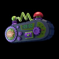 nickelodeon alarm clock model