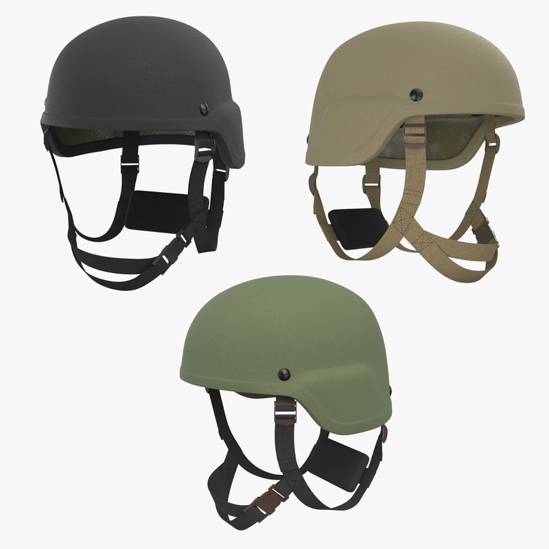 3D kevlar helmet