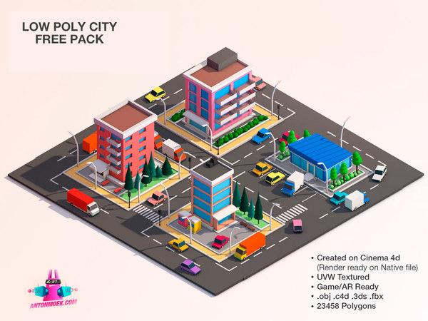 uvw polygons unity 3D model