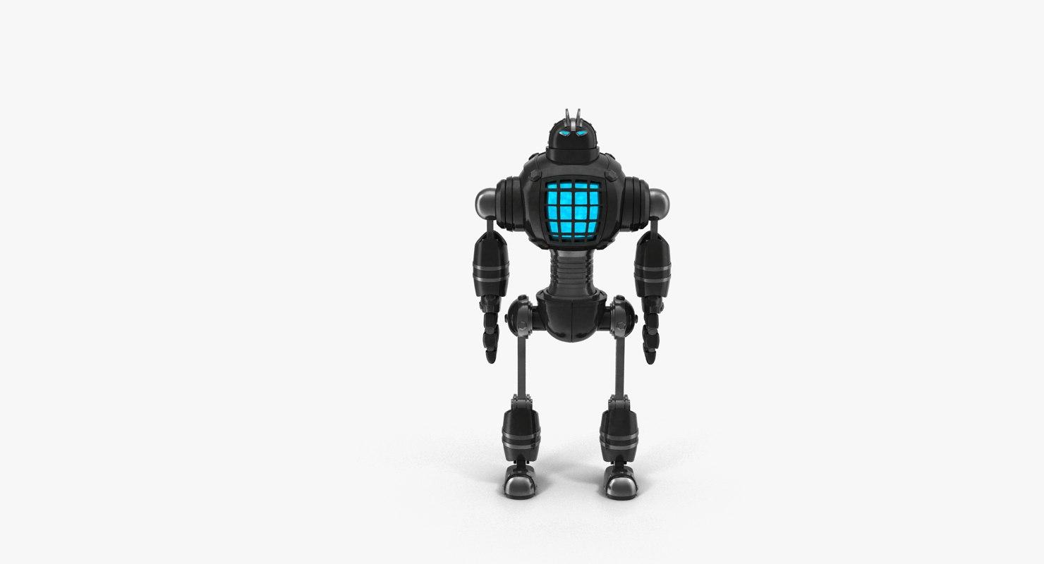 robot modeled model