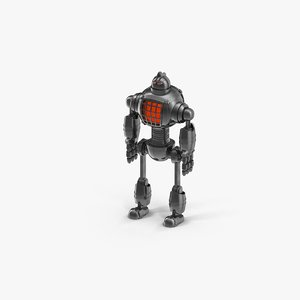 robot character android 3D model