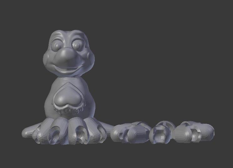 3D toy ink wellington
