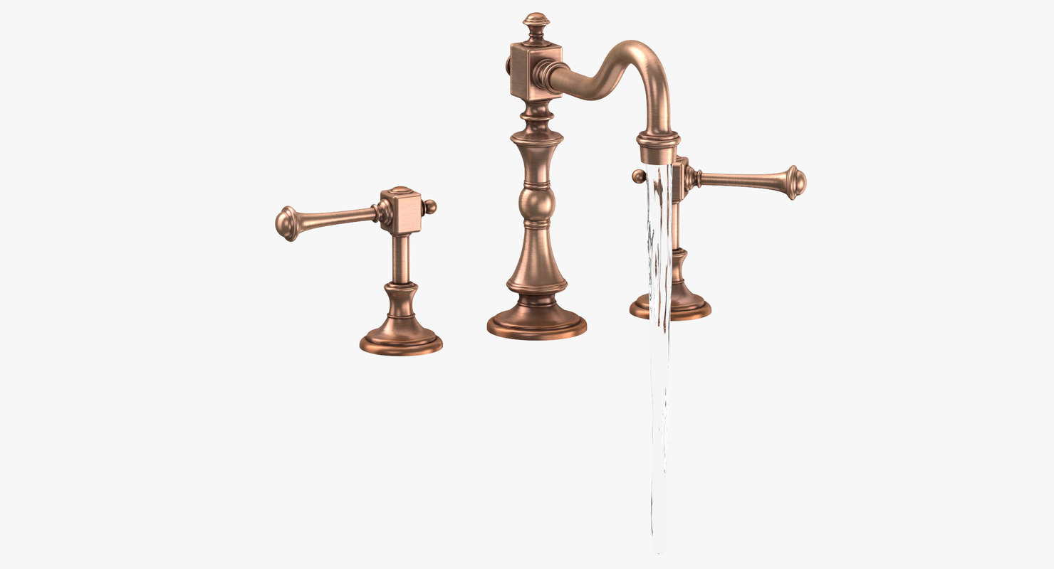 classical sink fixture - 3D model