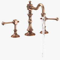 Classical Bathroom Sink Fixture - On