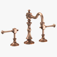 Classical Bathroom Sink Fixture - Off