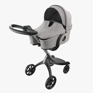 stokke xplory carrycot 3D model