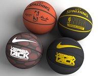basketball spalding nike 3D model