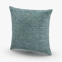3D contemorary-throw-pillows---blue model