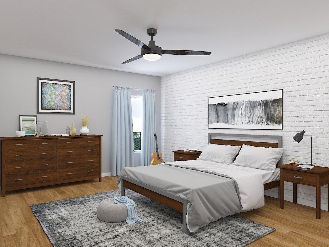 bedroom v6 3D model