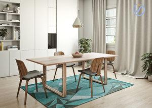 aarhus chair boconcept 3D model