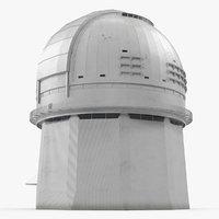 3D observatory building model