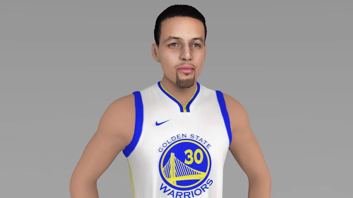 stephen curry ready color model