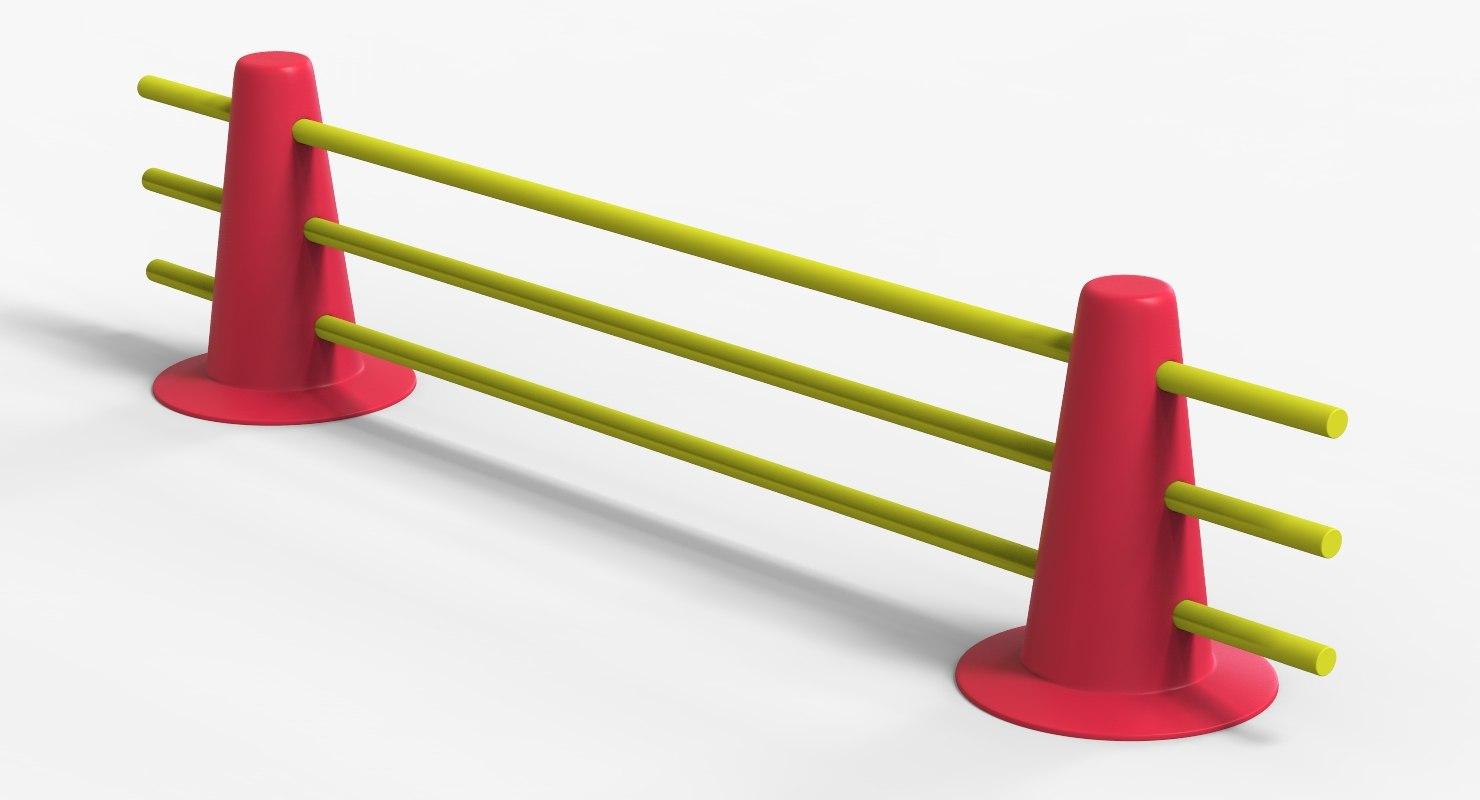 3D training cones