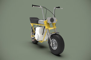 3D minibike rupp roadster model