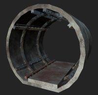 Underground Tunnel Segment