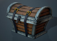 3D ready treasure chest