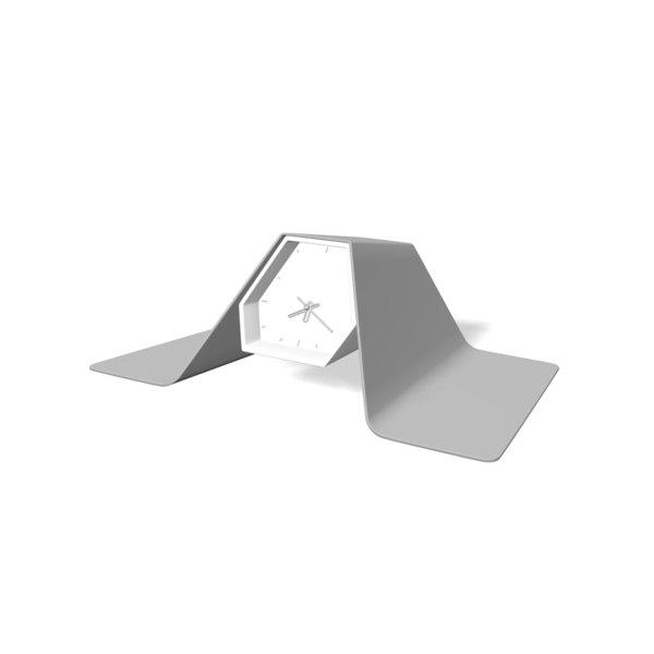 3D model design table clock