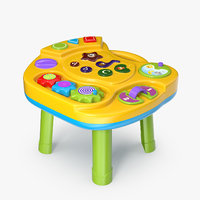 interactive children s table 3D model