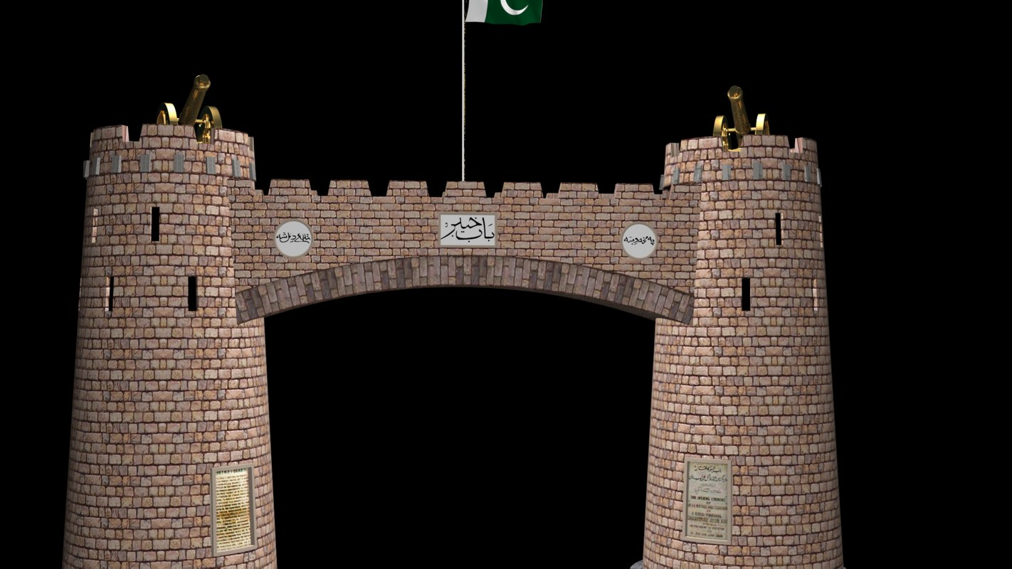 3D khyber pass gate