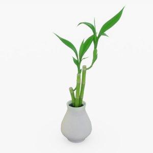 3D model decor plant