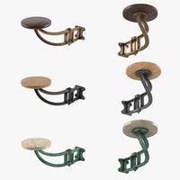 Vintage bar stool