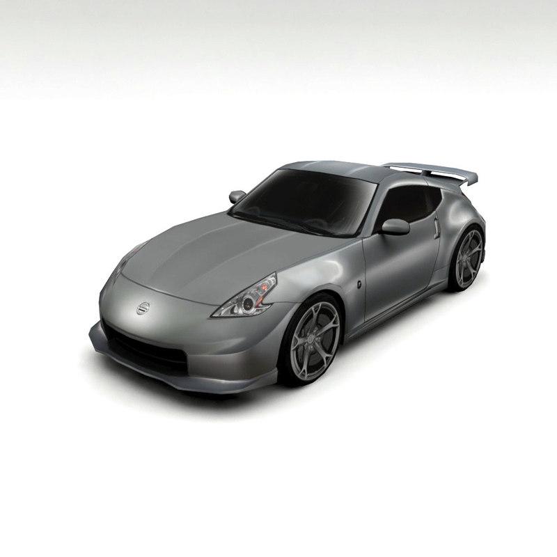 3D nissan 370z nismo model
