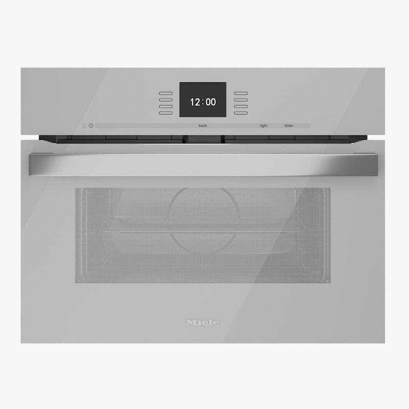 Speed Oven Miele H 6500 6600 BM White