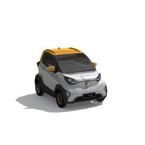 3D tiny car