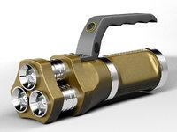 3D led flashlight