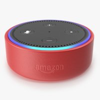 3D amazon echo dot kids model