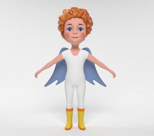 3D model angel games