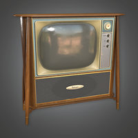 Retro Television - PBR Game Ready