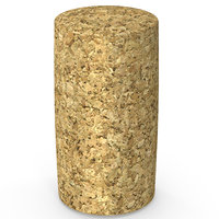 3D cork wine
