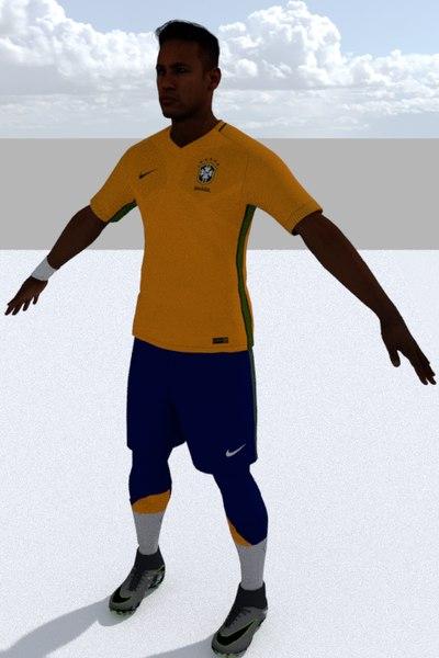 3D neymar games model