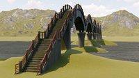 sansiantai bridge model