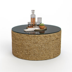3D harbor coffee table somerset model